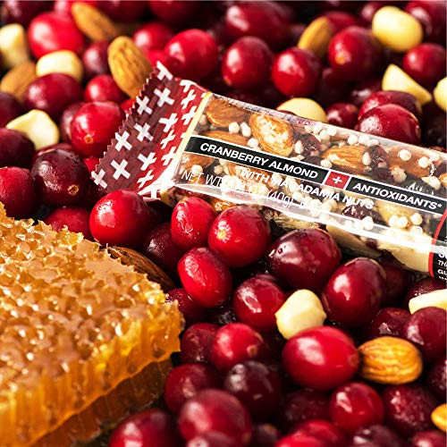 Kind Bars, Cranberry Almond Plus Antioxidants with Macadamia Nuts, Gluten Free, Low Sugar, 1.4oz