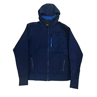 5dab0feaa93817 Oakley Sweat À Capuche Zippé Snowboard Scuba Dark Bleu (XL, Bleu Fonce)