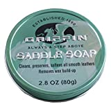 Griffin Saddle Soap - Cleans, Preserves,...