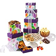 Easter Budding Gift Tower with Assorted Sweets and Snacks