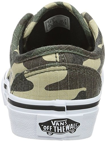 Boys' Green Atwood Vans Textile Top Camo Low Yt Sneakers fdYnnTFv