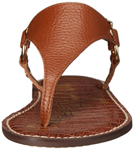 Saddle Sam Soft Leather Bride Edelman Greta Sandales arrière Femme FxF0wq