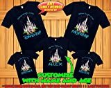 Disney family matching custom t-shirts, Family vacation disney shirts, custom Personalized disney shirt, Personalized Disney Shirts for Family