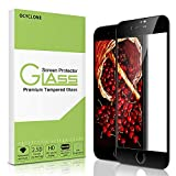 iPhone 8 Plus Screen Protector-OCYCLONE Tempered Glass with 3D Touch Case Protective Screen Protector for Apple iPhone 7 Plus (Black)