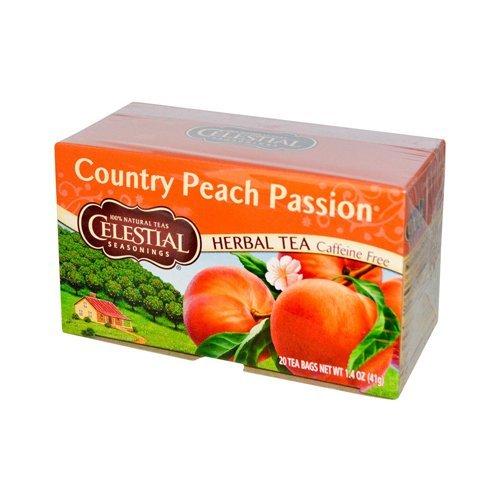 Celestial Seasonings Herbal Tea,Country Peach Passion, (2 Pack)