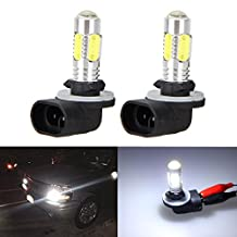XT AUTO 2x 6000K White High Power 881 886 889 894 COB LED Fog Driving Light Bulbs