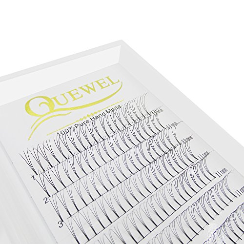 42ef8699086 Russian Volume Eyelash Extensions 3D D Curl 8-15 mm Short Thickness 0.10 mm  Premade