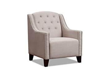 The One Tela Colonial sillón - Fireside sillón - WINGBACK ...