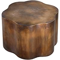 Uttermost 24445 Sameya Oxidized Accent Table, Copper