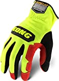 Ironclad KONG KOPR-02-S Operator Oil & Gas Safety Gloves, Small, Yellow/Black