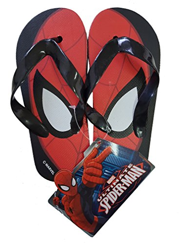 takestop Tongs Spiderman Marvel Homme Araignée supereroe Nombre 32 Flip Flop kinds enfant fille sandales sandales mer Fantaisie mer