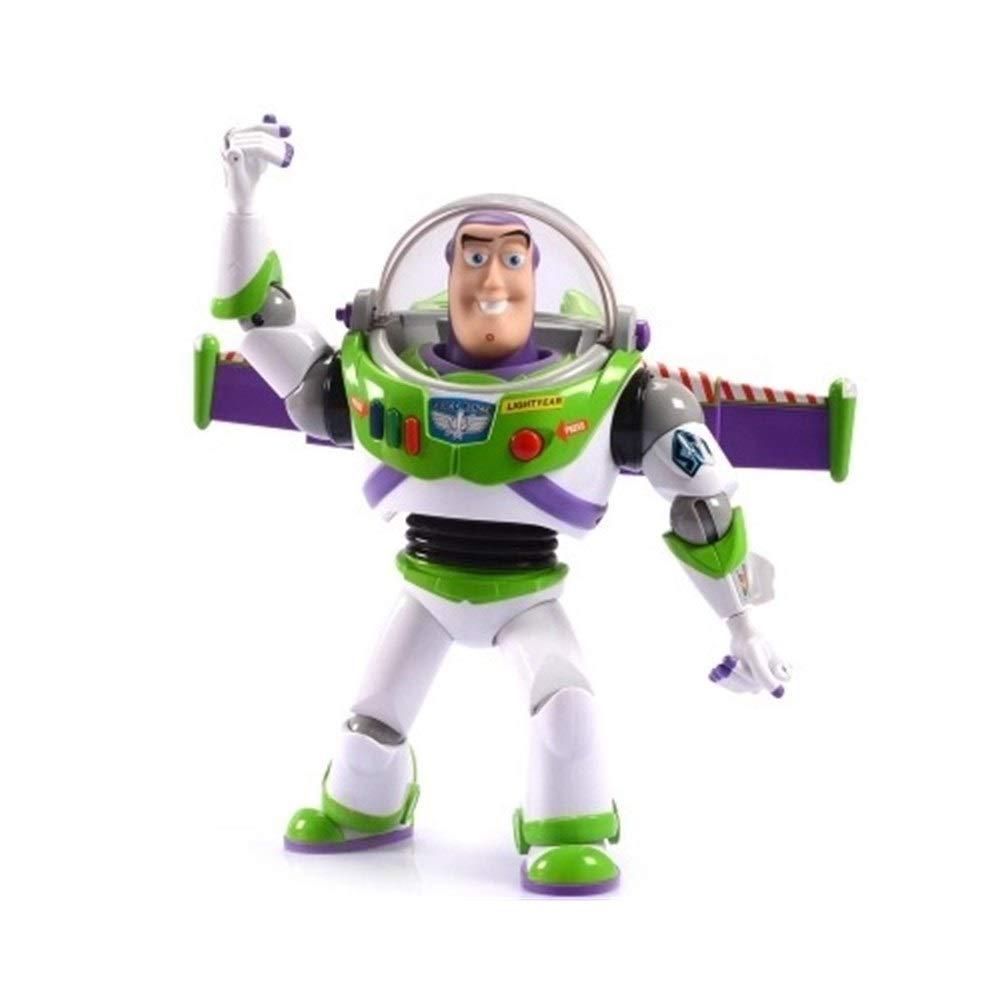 MYMG Figures d'anime Figurine articulée, Histoire de Pixar Marcher Parler Buzz lumièreyear Jouet avec Plus de 20 Phrases   Sons, MultiCouleure, pour Enfants Ados Souvenirs   Collectibles