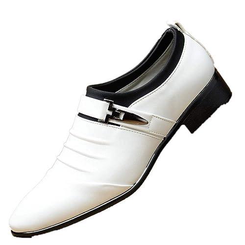 Zapatos Hombre Vestir Oxford Derby Traje Casual Fiesta Punta ...