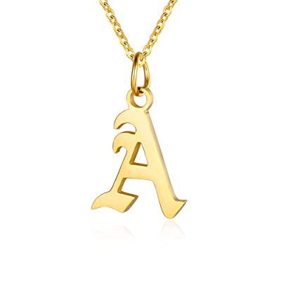 Necklaces For Women Gold Necklace Letter Necklace Personalized Bridesmaid Gift Personalized Initial Necklace Dainty Necklace Initial
