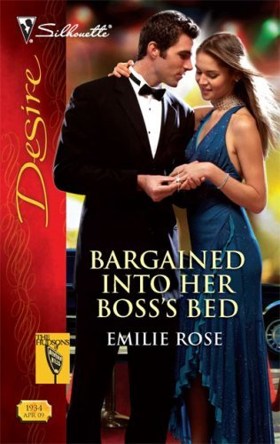 Bargained Into Her Boss's Bed (The Hudsons of Beverly Hills Book 4)