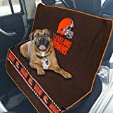 Pets First NFL CAR SEAT Cover – Cleveland Browns Waterproof, Non-Slip Best Football Licensed PET SEAT Cover for Dogs & Cats. Review