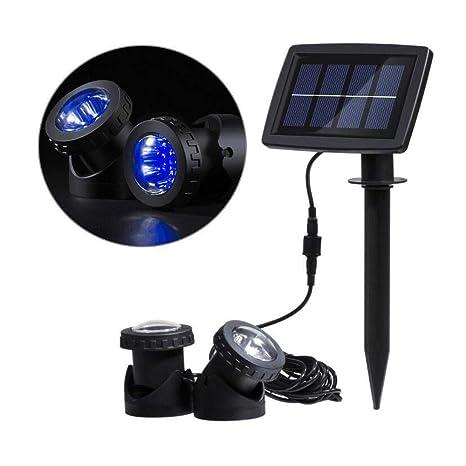 ZY Proyector Solar de proyección Proyector, Lámpara de Calle ...