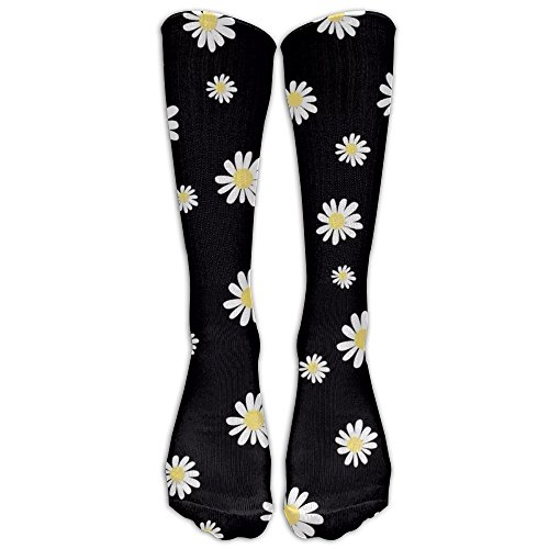 Daisy Yellow Flower Unisex Tube Socks 100% Brand New Elastic Comfortable High Socks Ankle Cotton (Count Bbs)