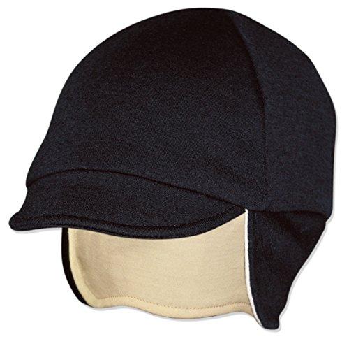 Pace Reversible Wool Hat (Black/Eggshell)