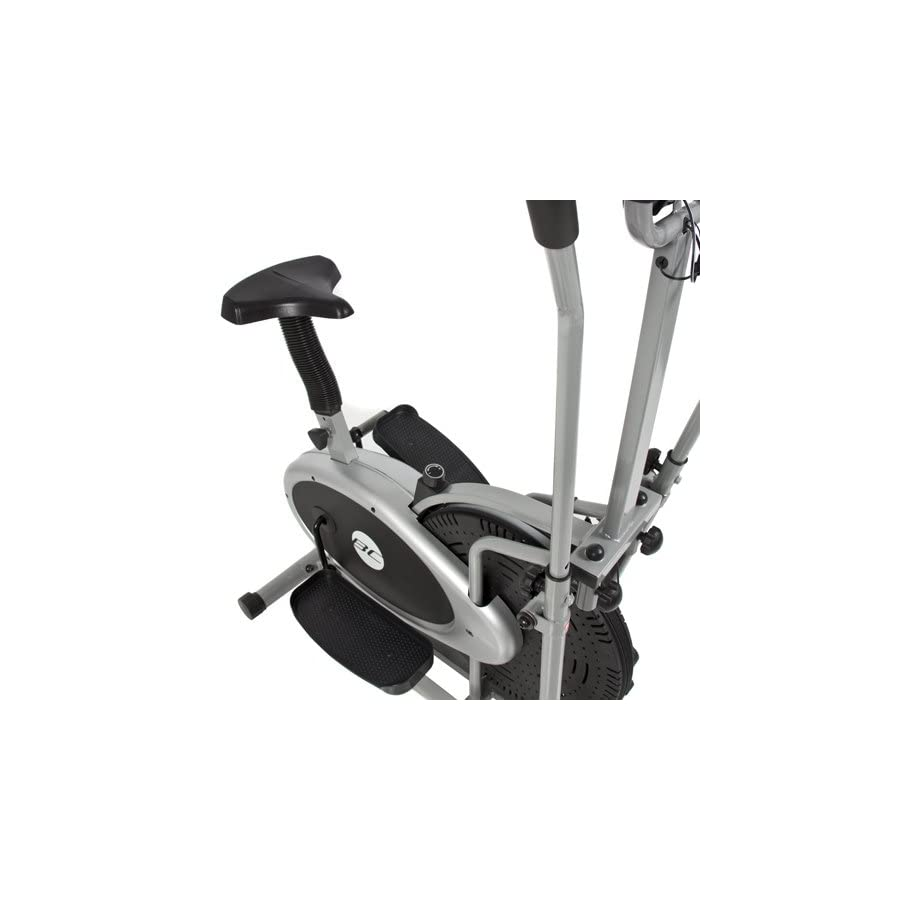 cfc1bb27f0c Best Choice Products 2 in 1 Elliptical Trainer Exercise Fitness Cycling  Bike w LCD Display