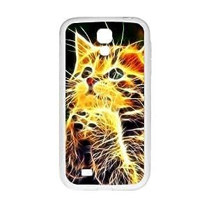 Personal Customization Creative Abstract Cat Custom Protective Hard Phone Cae For Samsung Galaxy S4