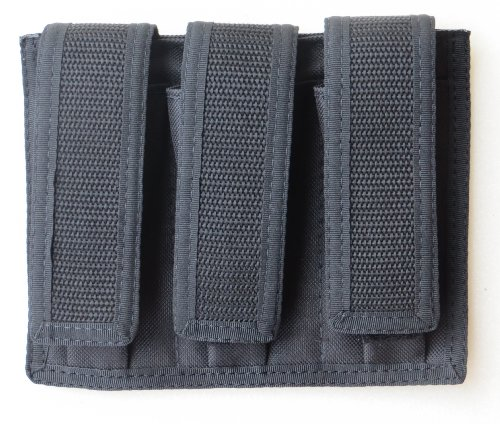 Triple Magazine Pouch 9mm, 40 & 45 Double Stacked Mags