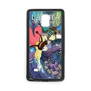 Samsung Galaxy Note 4 Black phone case LAPUTA Castle in the Sky IKL3031560