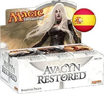 Magic The Gathering Caja 36 Sobres Español Avacyn Restituida ...