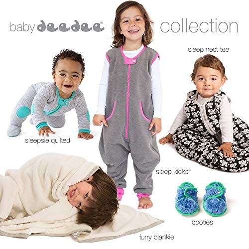 Sleep nest fleece baby sleeping bag, Lake Green, Medium