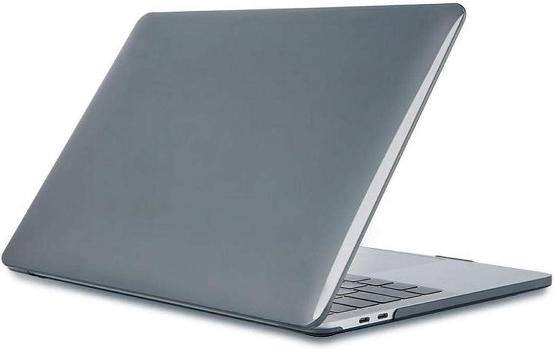 Funda de madera para MacBook Air 13 A1932 A2018 Hard Laptop Shell Cover para Mac book Air 13 pulgadas A1466 A1369 A2179 2020 Coque-Crystal negro-A1932 A2179