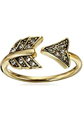 House of Harlow 1960 Gold Arrow Affair Ring, Size 6