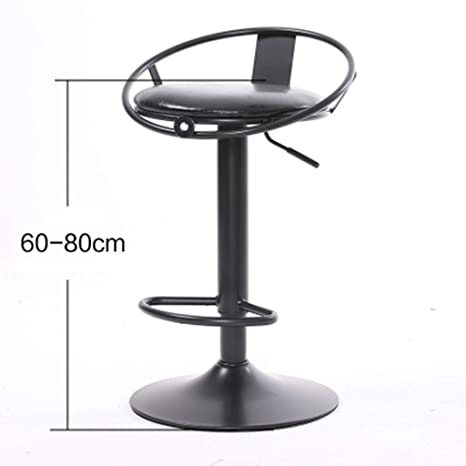 Amazon.com: XINGPING - Silla de barra de hierro, diseño ...