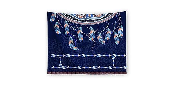xkjymx Paño Decorativo Colgante de Tela con Estampado Indio Tapiz ...