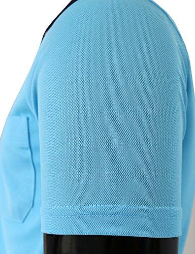 BCPOLOジップポロシャツのDriフィットポロシャツアスレチック半袖カジュアル、ゴルフポロシャツ