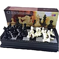 The Chess Store Chess & Checkers Folding Magnetic Travel Set - 9.75""