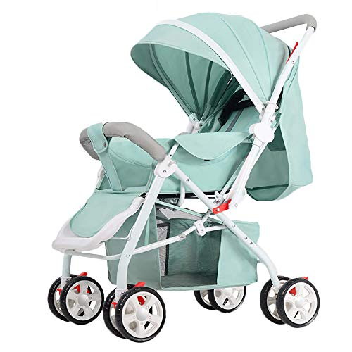 WYANAN Baby Stroller High Landscape Infant Stroller Reversible Pram for Newborn and Toddler Convertible Compact Single…