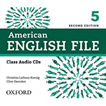 American English File: Level 5 Class CD (4 Discs)