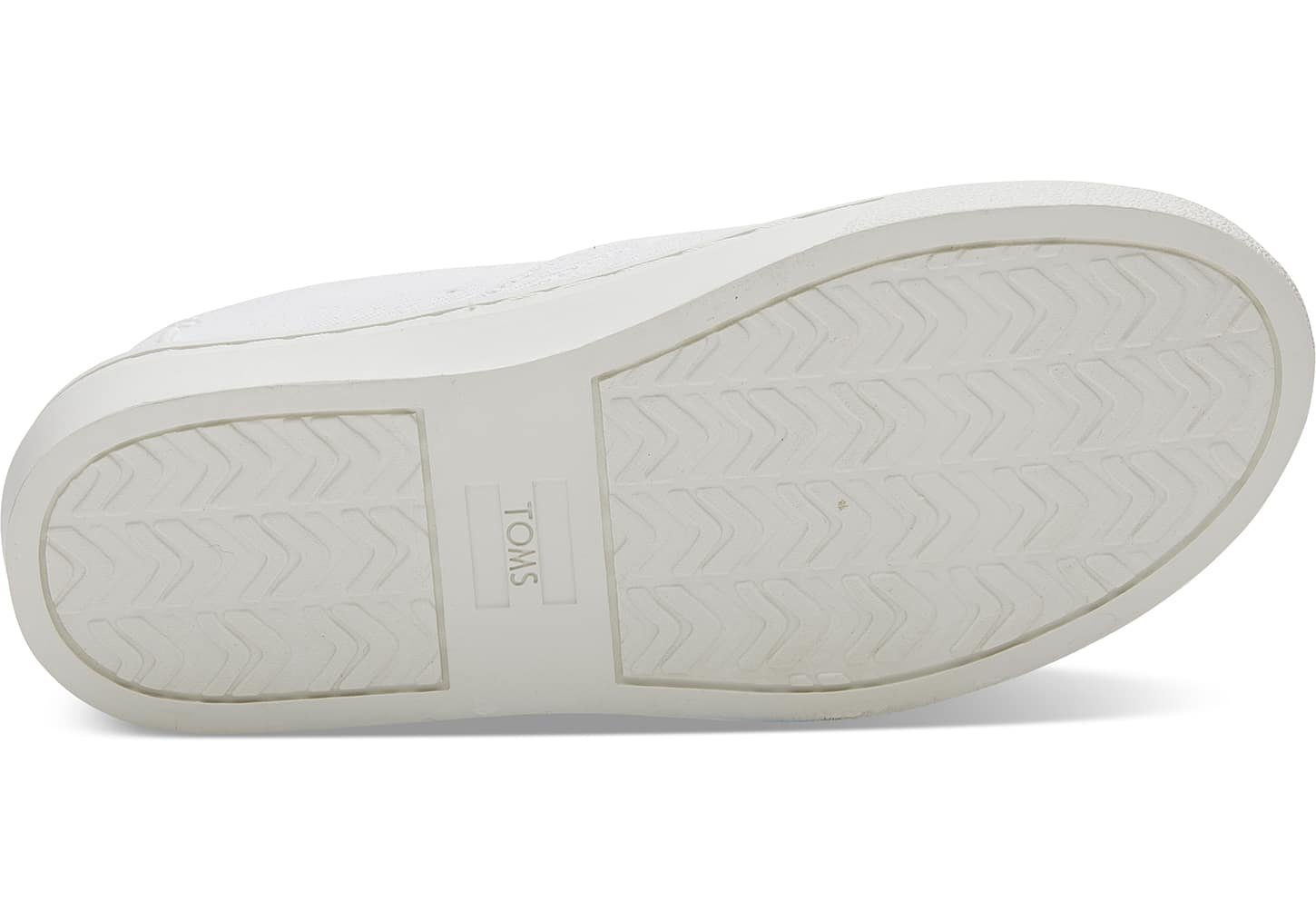 TOMS Youth Luca Slip Ons White Denim Love 10011482 Youth Size 5.5 by TOMS Kids (Image #4)