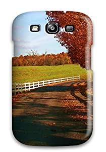 For Galaxy S3 Tpu Phone Case Cover(autumn Scenes)