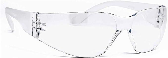 PEQUENAS MIRAGE ANTIVAHO ANTI VIRUS Pequeñas Gafas Anti Vaho Transparentes 100% UV Anti Virus, Hombre Mujer - Gafas Deportivas 100% Envolventes AntiVirus Anti-Golpes Antisalspicaduras: Amazon.es: Ropa y accesorios