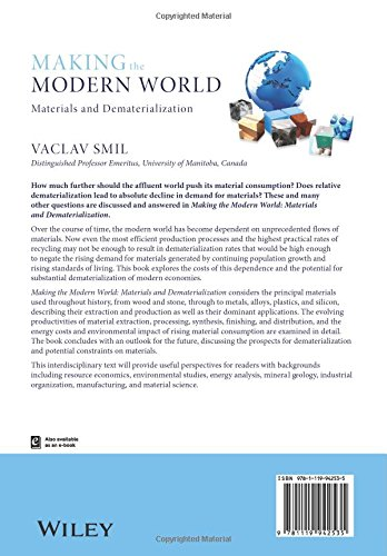 Making The Modern World Materials And Dematerialization Amazonde