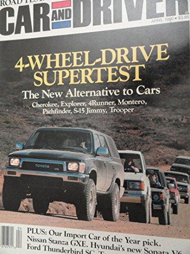 Trooper Isuzu Dealer (1990 1991 1992 Ford Explorer / GMC S-15 Jimmy / Isuzu Trooper / Jeep Cherokee / Mitsubishi Montero / Nissan Pathfinder / Toyota 4runner / Toyota Cressida / Nissan Stanza / Hyundai Sonata Road Test)