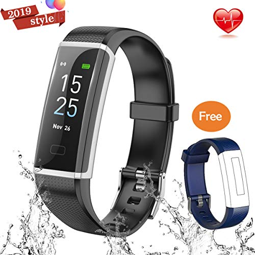 Fitness Tracker with heart monitor, fitness trackers watch w...