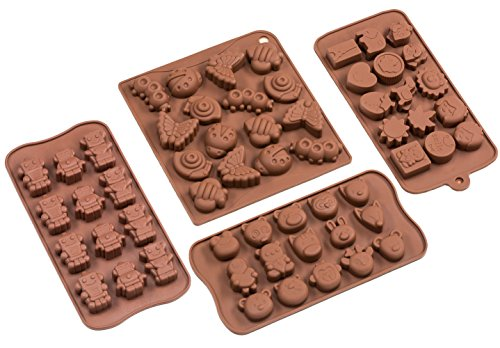Sorbus Silicone Chocolate Candy Cartoons Characters