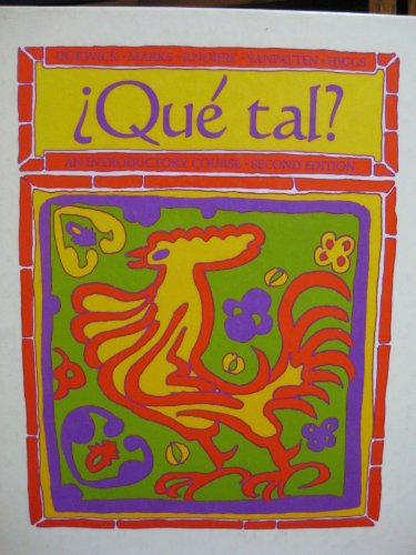 Que? tal?: An introductory course
