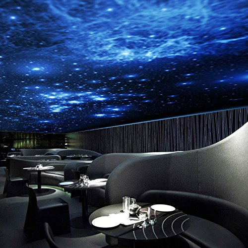 ZLJTYN 240cmX160cm luxury self adhesive wallpaper modern design milky way ceiling wallpaper sofa TV background wall hotel shop wallpaper by ZLJTYN (Image #4)
