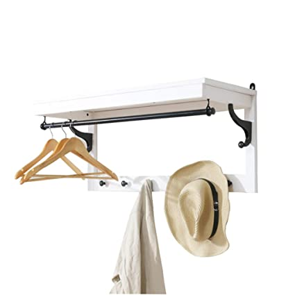 Amazon.com: Coat Racks Stand Coat Rack Shelf, Coat Rack Wall ...