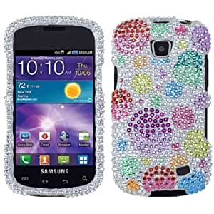 Quaroth Asmyna SAMI110HPCDM378NP Stylish Dazzling Diamante Case for Samsung Illusion/Proclaim i110 - 1 Pack - Retail Packaging...