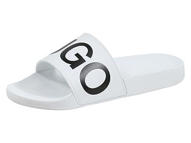 e856f5b8f55c Amazon.com  Hugo Boss Men s Timeout-RB Slides Sandals Shoes  Shoes