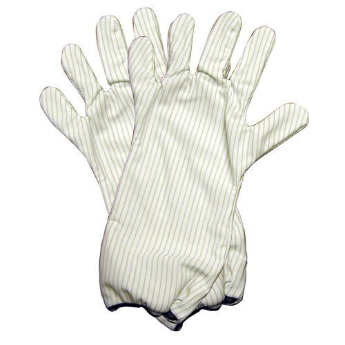 Transforming Technologies GL9101 - GL9100 Series Polyester ESD-Safe Hot Gloves - 14'' - Small - Pair